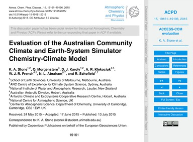 Evaluation of the Australian Community C... by Stone, K. A.