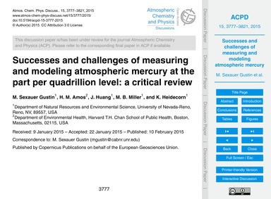 Successes and Challenges of Measuring an... by Sexauer Gustin, M.