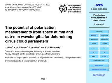 The Potential of Polarization Measuremen... by Miao, J.