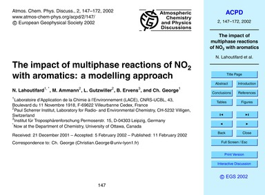 The Impact of Multiphase Reactions of No... by Lahoutifard, N.