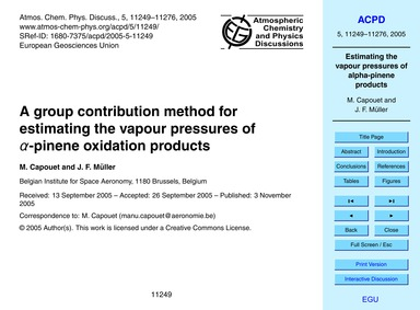 A Group Contribution Method for Estimati... by Capouet, M.