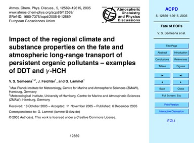 Impact of the Regional Climate and Subst... by Semeena, V. S.