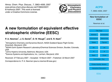 A New Formulation of Equivalent Effectiv... by Newman, P. A.