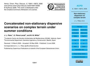 Concatenated Non-stationary Dispersive S... by Palau, J. L.