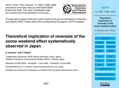 Theoretical Implication of Reversals of ... by Kannari, A.