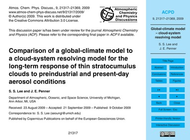 Comparison of a Global-climate Model to ... by Lee, S. S.