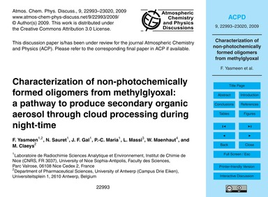 Characterization of Non-photochemically ... by Yasmeen, F.
