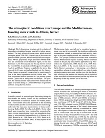 The Atmospheric Conditions Over Europe a... by Houssos, E. E.
