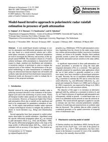 Model-based Iterative Approach to Polari... by Vulpiani, G.