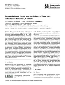 Impact of Climate Change on Water Balanc... by Grigoryan, G. V.