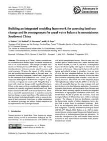 Building an Integrated Modeling Framewor... by Wahren, A.