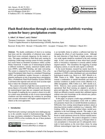 Flash Flood Detection Through a Multi-st... by Alfieri, L.