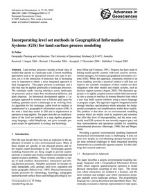 Incorporating Level Set Methods in Geogr... by Pullar, D.