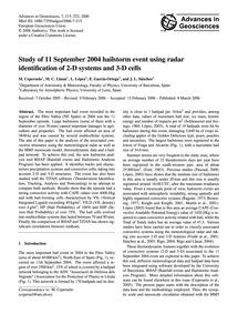 Study of 11 September 2004 Hailstorm Eve... by Ceperuelo, M.