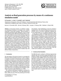 Analysis on Flood Generation Processes b... by Fiorentino, M.