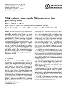Mtg: Resolution Enhancement for Mw Measu... by Dietrich, S.