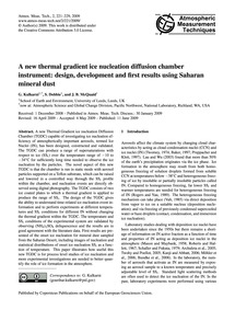 A New Thermal Gradient Ice Nucleation Di... by Kulkarni, G.