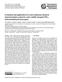 Evaluation and Application of a Semi-con... by Godri, K. J.