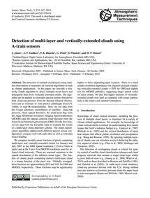 Detection of Multi-layer and Vertically-... by Joiner, J.
