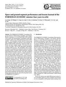 Space and Ground Segment Performance and... by Fong, C.-j.