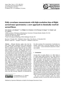 Eddy Covariance Measurements with High-r... by Farmer, D. K.