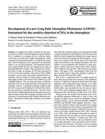 Development of a New Long Path Absorptio... by Villena, G.
