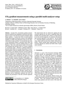 Co2-gradient Measurements Using a Parall... by Siebicke, L.