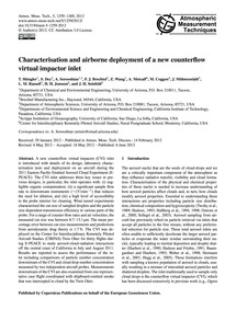 Characterisation and Airborne Deployment... by Shingler, T.