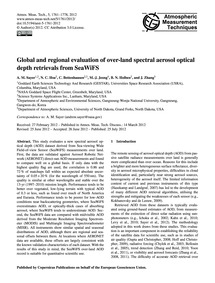Global and Regional Evaluation of Over-l... by Sayer, A. M.