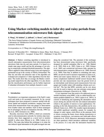 Using Markov Switching Models to Infer D... by Wang, Z.