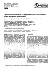 Operational Considerations to Improve To... by Gómez-amo, J. L.