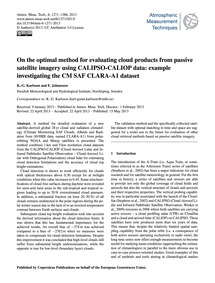 On the Optimal Method for Evaluating Clo... by Karlsson, K.-g.