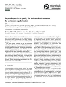 Improving Retrieval Quality for Airborne... by Ungermann, J.