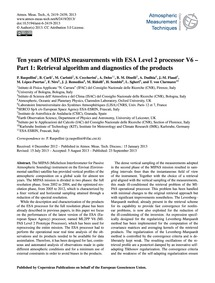 Ten Years of Mipas Measurements with Esa... by Raspollini, P.