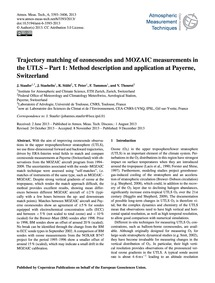 Trajectory Matching of Ozonesondes and M... by Staufer, J.