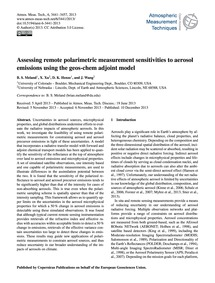 Assessing Remote Polarimetric Measuremen... by Meland, B. S.
