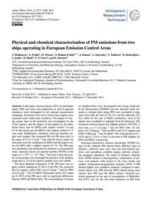 Physical and Chemical Characterisation o... by Moldanová, J.