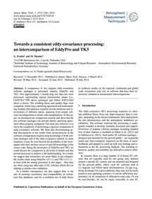 Towards a Consistent Eddy-covariance Pro... by Fratini, G.