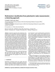 Hydrometeor Classification from Polarime... by Grazioli, J.