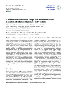 A Method for Stable Carbon Isotope Ratio... by Kornilova, A.