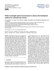 Multi-wavelength Optical Measurement to ... by Chen, L.-w. A.