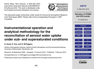 Instrumentational Operation and Analytic... by Good, N.