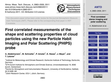 First Correlated Measurements of the Sha... by Abdelmonem, A.