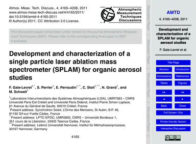 Development and Characterization of a Si... by Gaie-levrel, F.