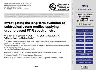 Investigating the Long-term Evolution of... by García, O. E.