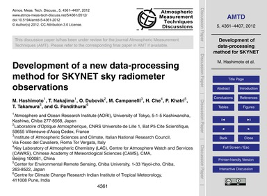Development of a New Data-processing Met... by Hashimoto, M.