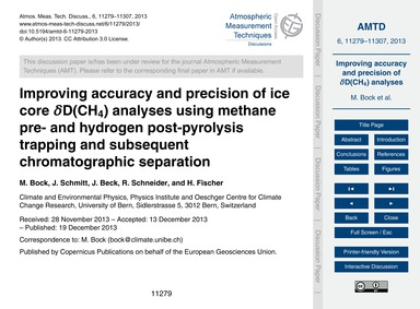 Improving Accuracy and Precision of Ice ... by Bock, M.