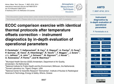Ecoc Comparison Exercise with Identical ... by Panteliadis, P.