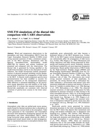 Smltm Simulations of the Diurnal Tide: C... by Akmaev, R. A.