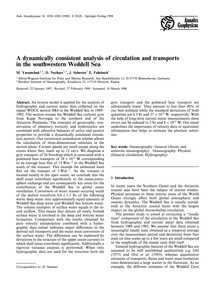A Dynamically Consistent Analysis of Cir... by Yaremchuk, M.